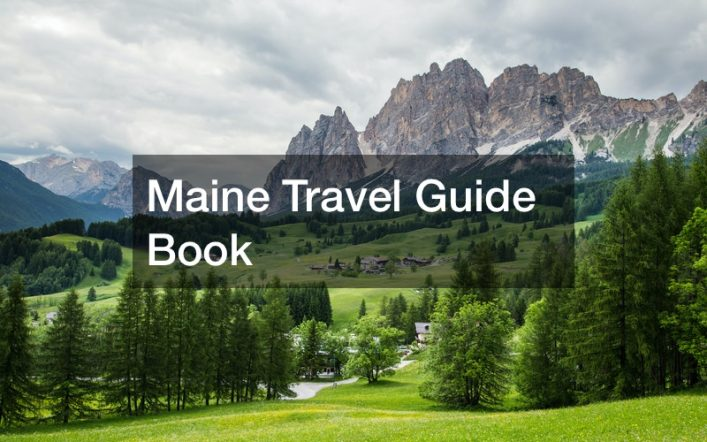 Maine Travel Guide Book
